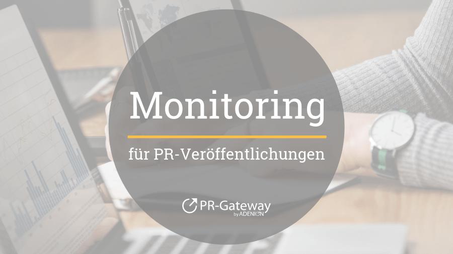 Monitoring für PR-Veröffentlichungen