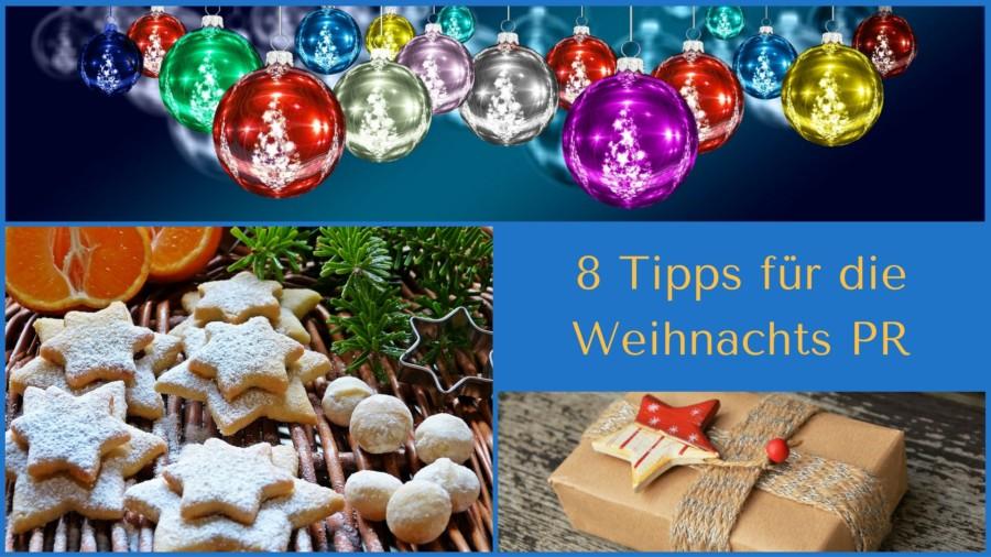 8 Tipps für die Weihnachts PR