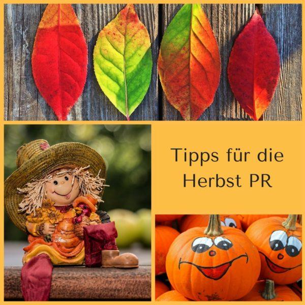 Tipps für die Herbst PR