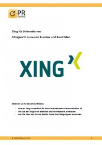 Xing Leitfaden Cover