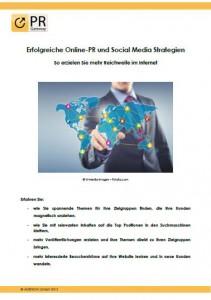 Erfolgreiche Online-PR und Social Media Strategien