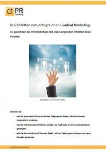 In 5 Schritten zum erfolgreichen Content Marketing