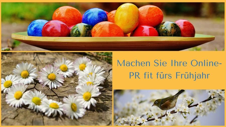 So finden Sie spannende Frühlingsthemen für Ihre Online-PR und überzeugen Interessenten und Kunden
