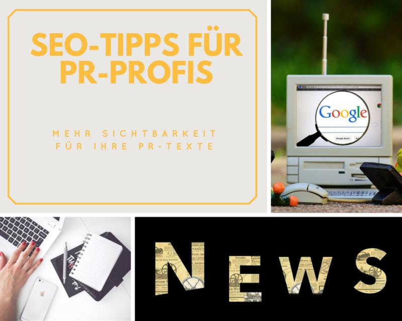 SEO Tipps für PR-Profis