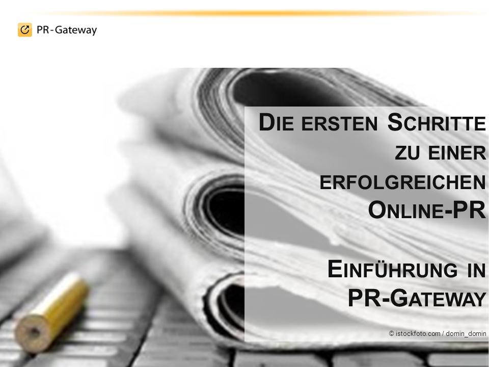 Erfolgreiche Online-PR mit Online-Pressemitteilungen