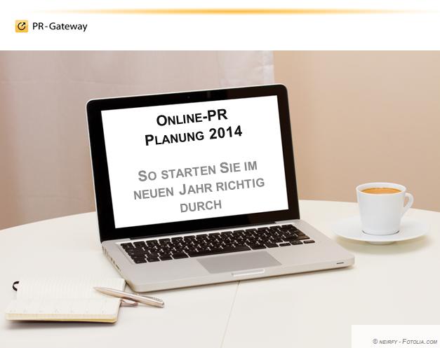 Online-Seminar Online-PR Planung 2014