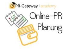 "Cover des Online-Seminars ""Online-PR Planung"""