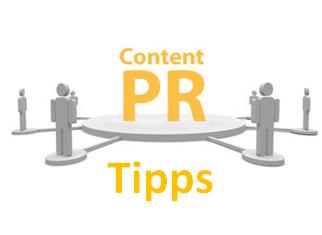 Content PR Tipps