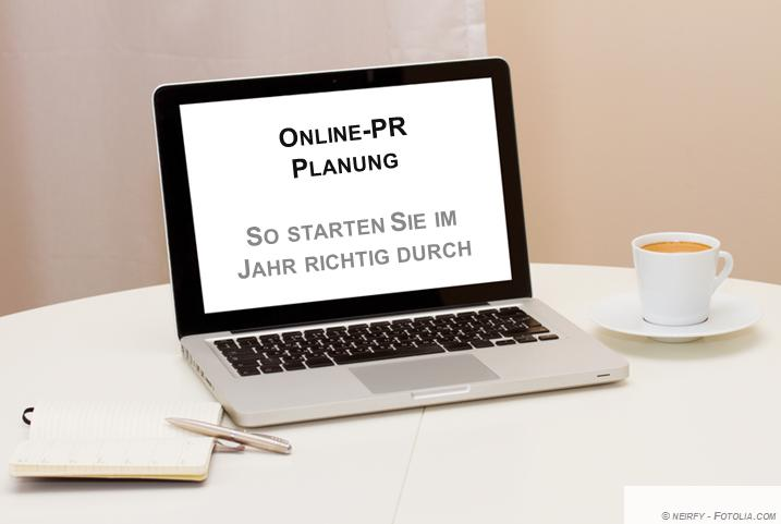Online-PR Planung