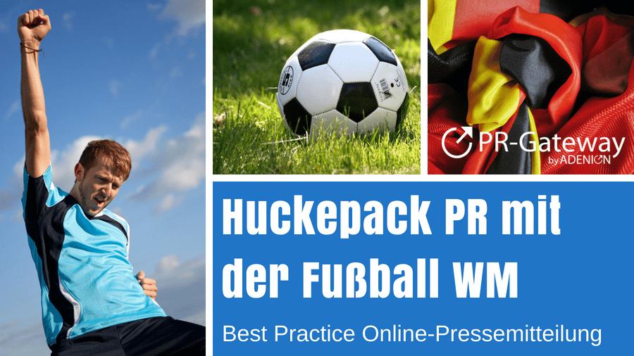 Huckepack PR zur WM
