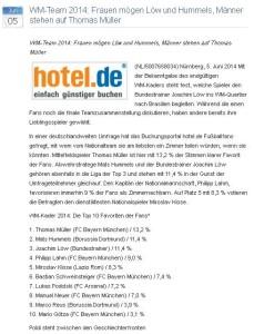 Best Practice WM-Pressemitteilung Bewertungsportal hotel.de