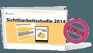 Cover der Sichtbarkeitsstudie 2014 von PR-Gateway