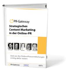 """Der kostenlose Leitfaden zu """"Strategisches Content Marketing in der Online-PR"""". Besonders Lesenswert!"""