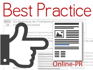 Best Practice Online-PR
