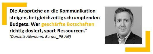 Dominik Allemann, Bernet_PR AG