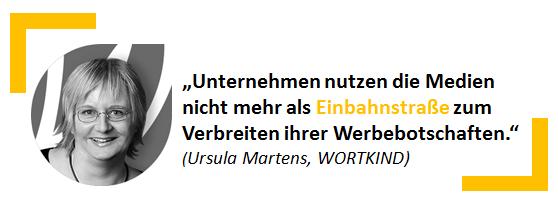 Ursula Martens, WORTKIND