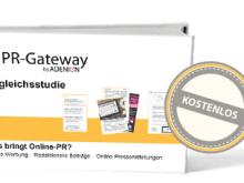 """Die Vergleichsstudie """"Was bringt Online-PR"""" gibt es jetzt kostenlos zum Download"""