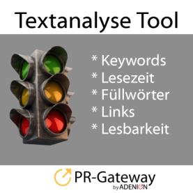 Textanalyse Tool PR-Gateway