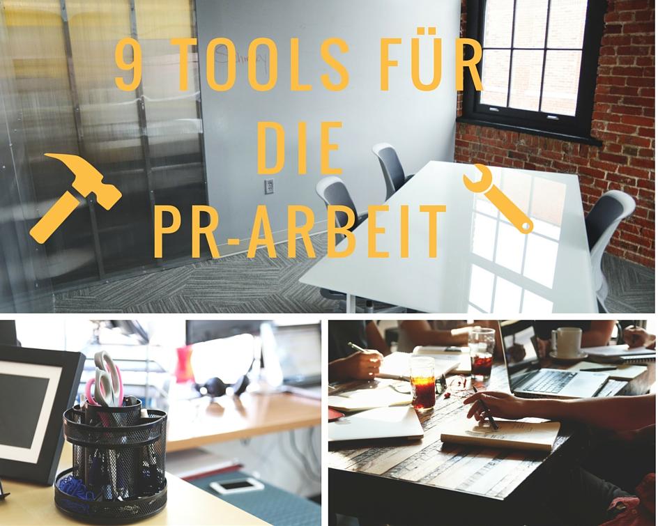 9 Tools für die PR-Arbeit