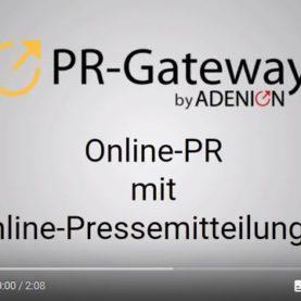 [Video] Warum Sie Online Pressemitteilungen nutzen sollten