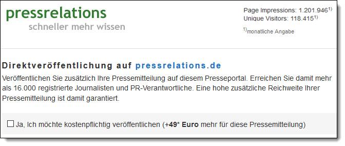 Presseverteiler press-relations mit PR-Gateway nutzen