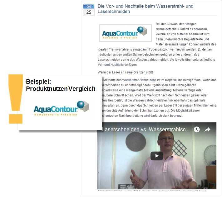 Pressemitteilung Aquacontour_Vergleich Wasserstrahl und Laserschneider