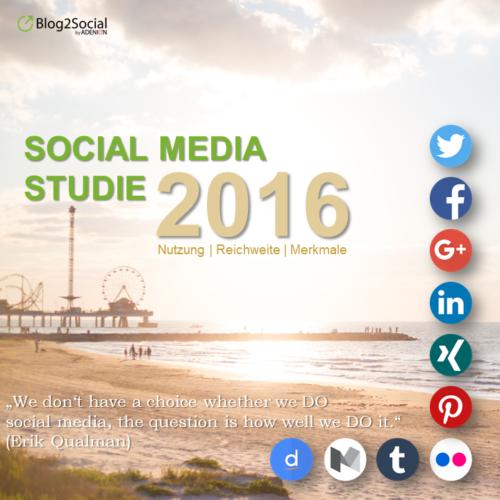 Social Media Studie 2016