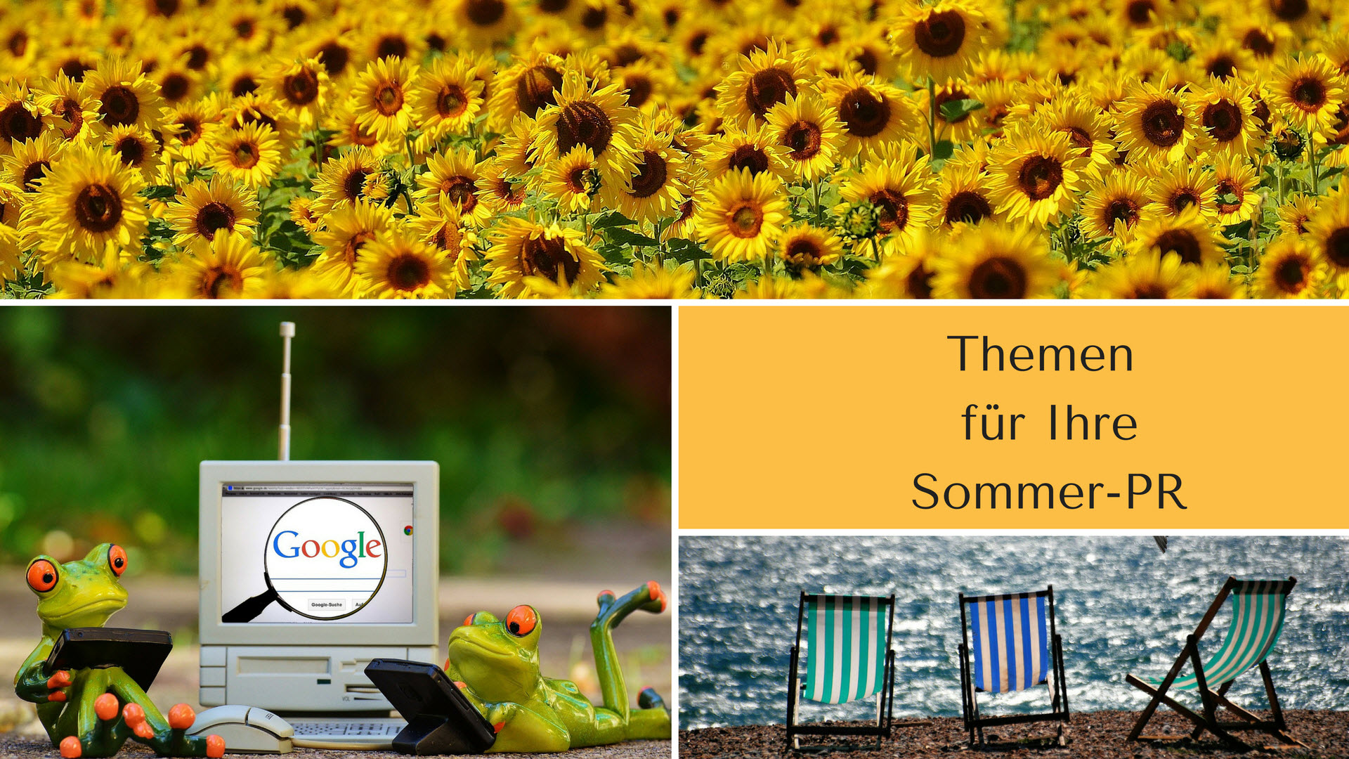 Sommer PR Tipps mit vielen Themenideen für Ihre Pressearbeit