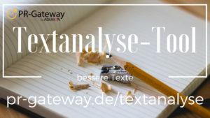 Textanalyse-Tool PR-Gateway