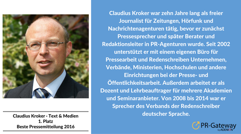 Claudius Kroker, Text & Medien