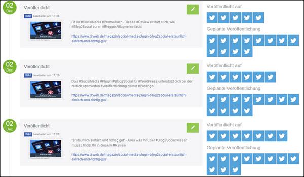 Social Media PR: Scheduling von regelmäßigen Informationen