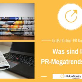 Die große PR-Gateway Umfrage: Was sind Ihre PR-Megatrends 2017
