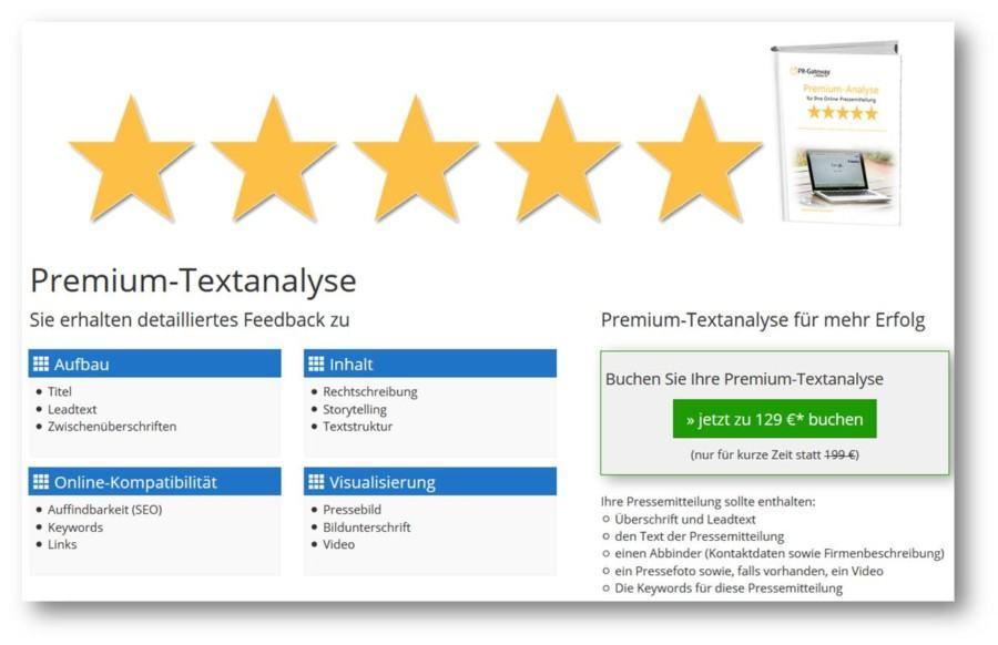 Die-Premium-Textanalyse