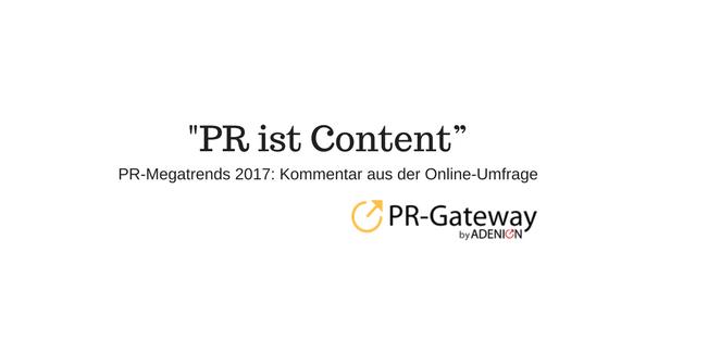 PR-Megatrends 2017_ Nutzerkommentare_PR ist Content