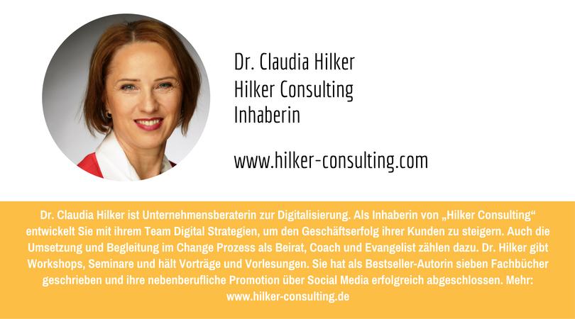 PR-Megatrends 2017: Dr Claudia Hilker