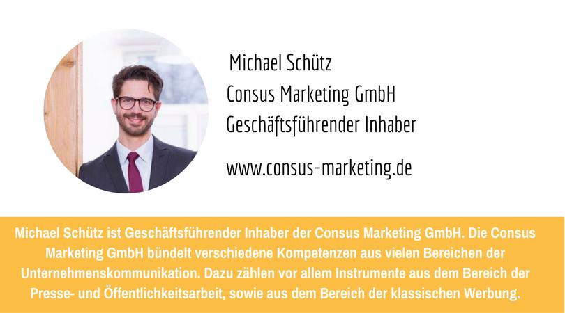 PR-Megatrends 2017: Michael Schütz