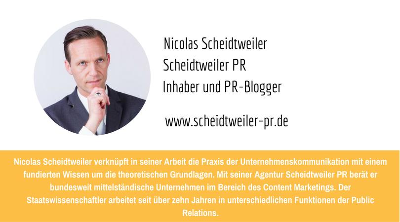 PR-Megatrends 2017: Nicolas Scheidtweiler