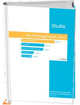 Die Studie zu den PR-Megatrends 2017 kostenlos downloaden