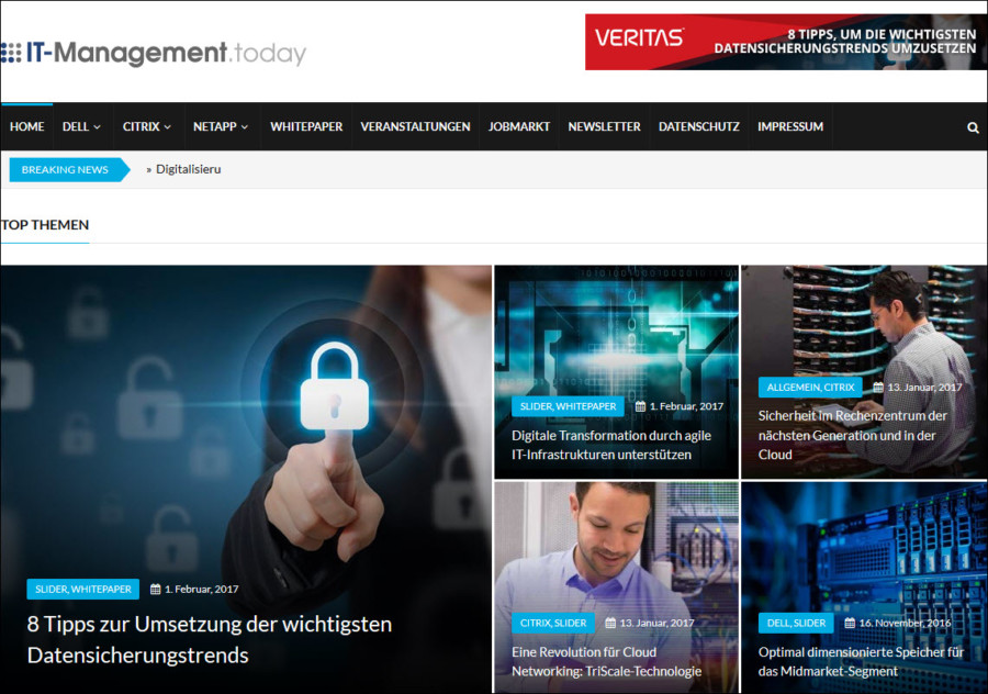 Das Fachportal IT-Management.today