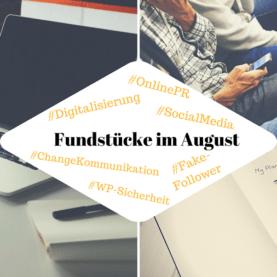 PR-Gateway Fundstücke August 2017