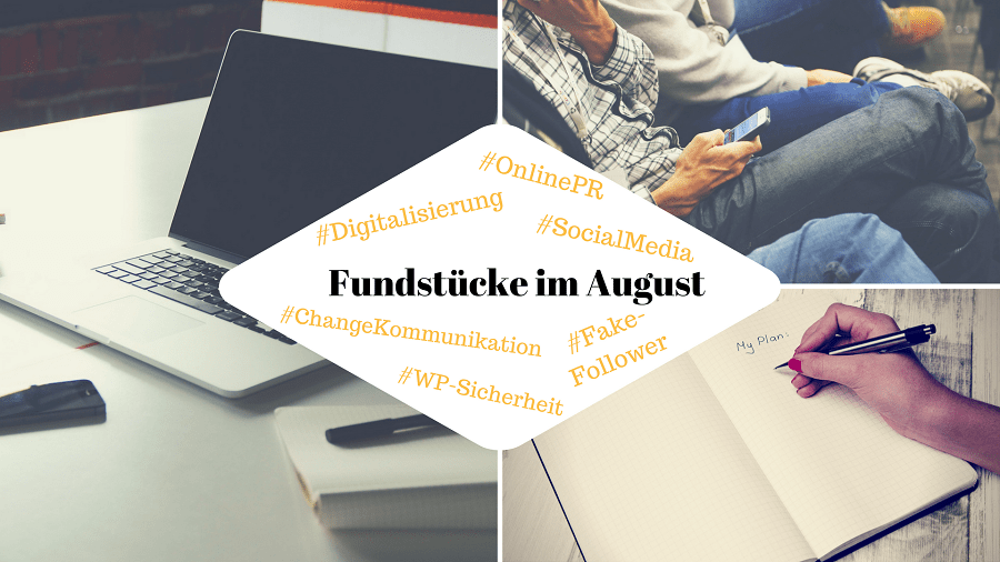 PR-Gateway Fundstücke August 2017