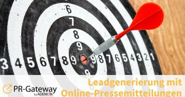 Leadgenerierung mit Online-Pressemitteilungen