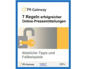 7 Regeln erfolgreicher Online-Pressemitteilungen