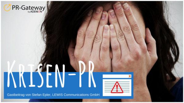 Krisen PR in der Praxis
