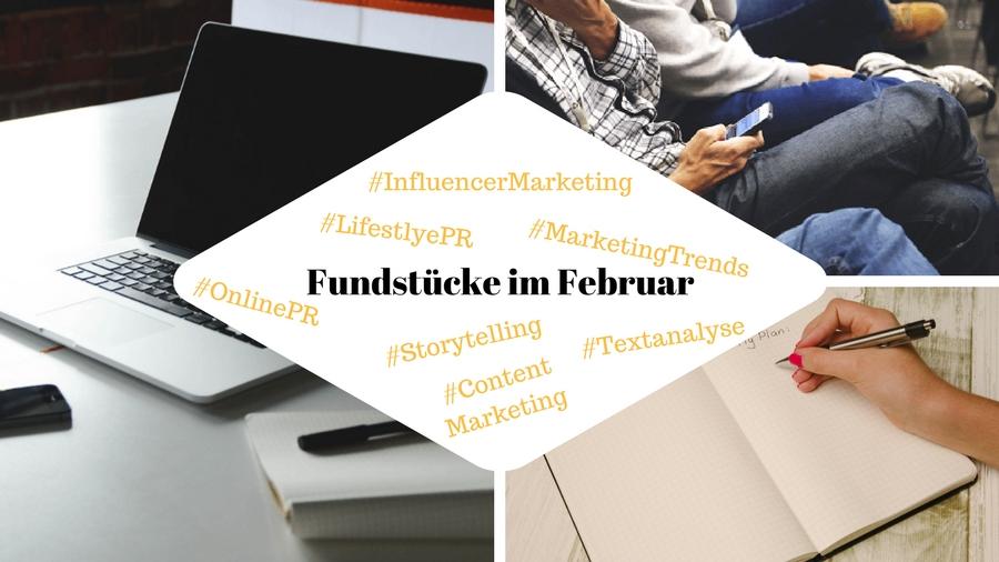 Unsere Fundstücke zu Online-PR und Social Media - 26.02.2018