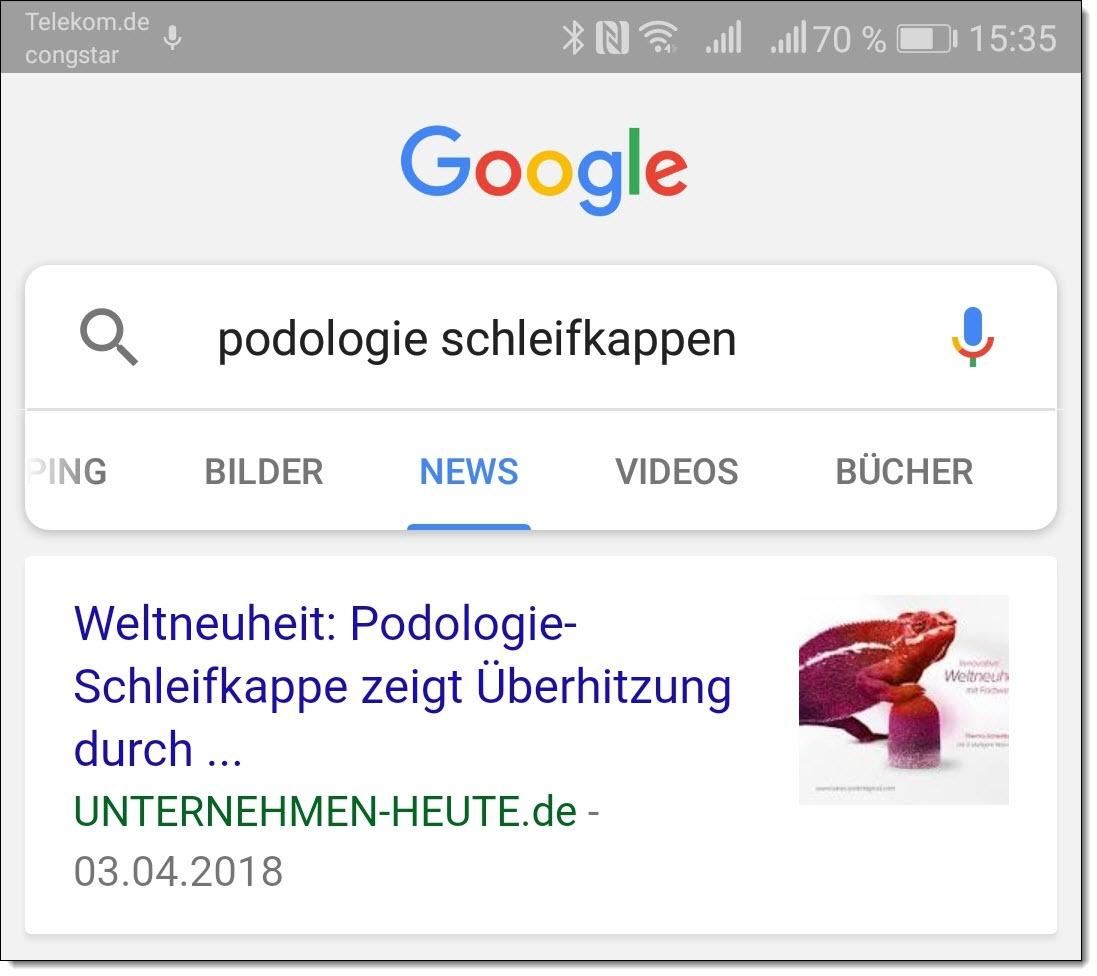 Sichtbar in den Google News mit Pressemitteilungen und Presseportalen
