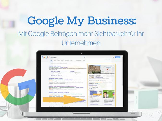 Leitfaden Google My Business