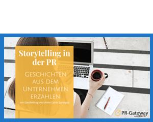Storytelling in der PR – Geschichten aus dem Unternehmen erzählen