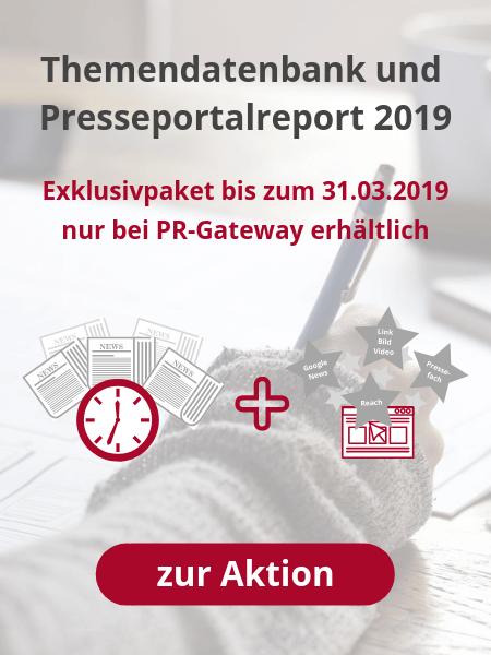 Themendatenbank und Presseportalreport 2019