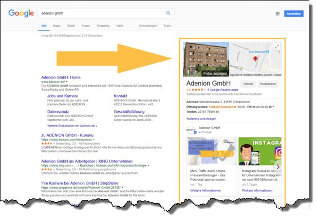 mens-News, Angebote, Produkte oder Events halten Ihr Google-My-Busin